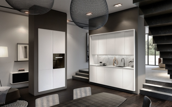 Siematic kitchen with Miele appliances at a unique price